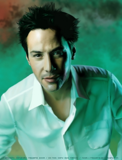 Keanu Reeves by redderz
